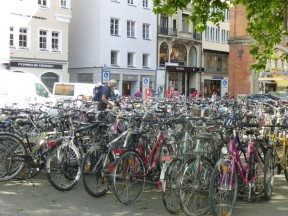 Munich cycling