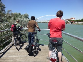 cycle BOOM on Seville cycle tour